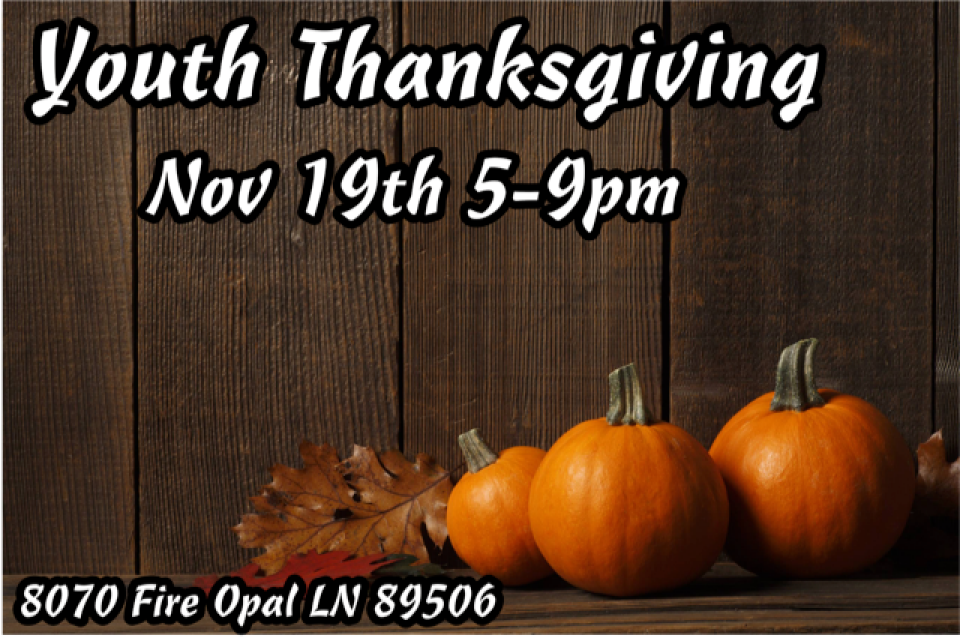 Youth Thanksgiving